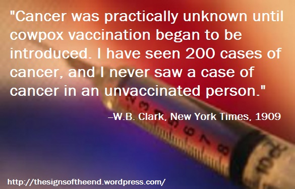 vaccinations and cancer