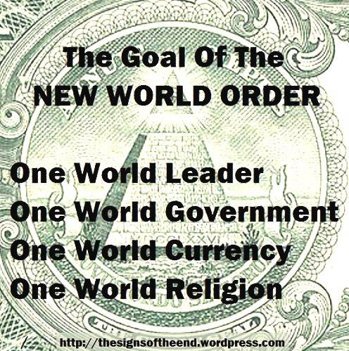 goal of the new world order