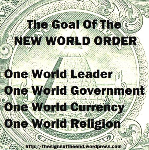goal of the new world order