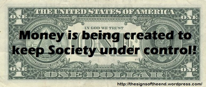 money is being created