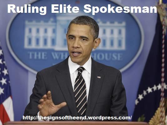 ruling elite spokesman